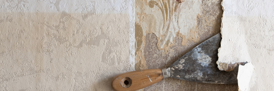 Is there anything more annoying than removing old wallpaper? Let us take care of it for you.