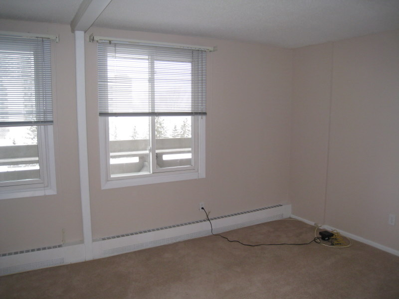 Newly painted room