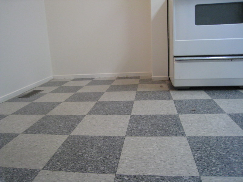 Tiling in kitchen